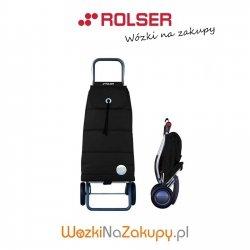 Wózek na zakupy PAC023 LOGIC POLAR kolor NEGRO, firmy Rolser