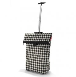 Torba na kółkach Trolley M kolor Fifties Black, firmy Reisenthel