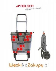 Wózek na zakupy MNB011 Mini Bag LOGIC RG Logos kolor Rojo, firmy Rolser
