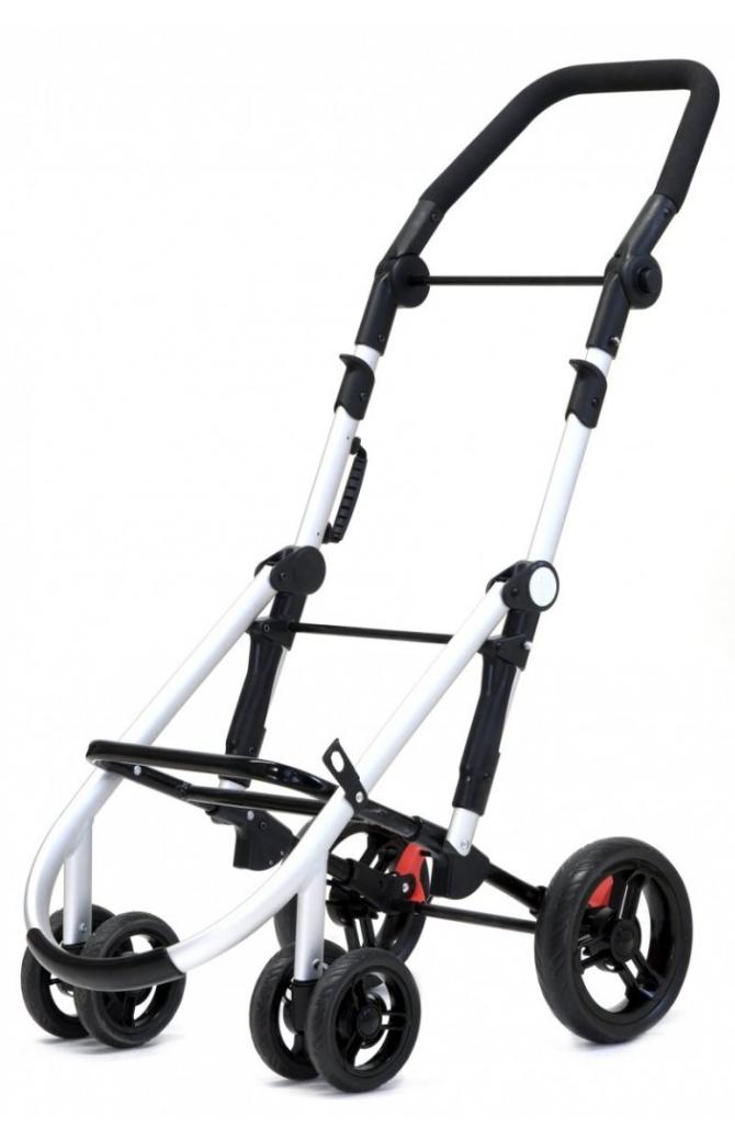 Wózek na zakupy Lett460 w kolorze New Black, firmy Carlett