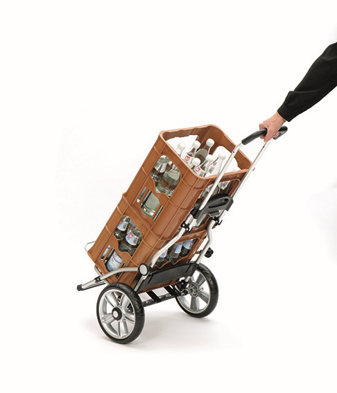 Wózek na zakupy Royal 167 Jante czarny, firmy Andersen