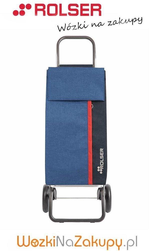 Wózek na zakupy KAN001 Tweed Convert RG kolor Azul, firmy Rolser