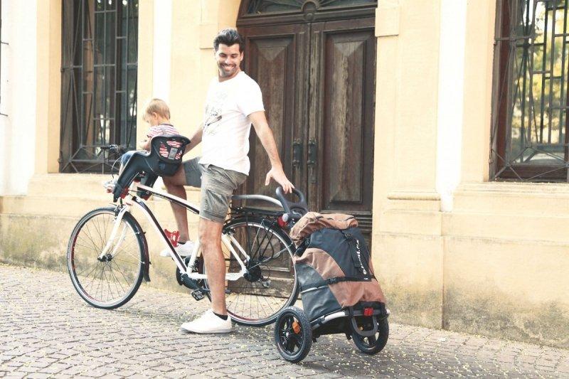 Wózek turystyczny B-Tourist w kolorze Lime, firmy Bellelli