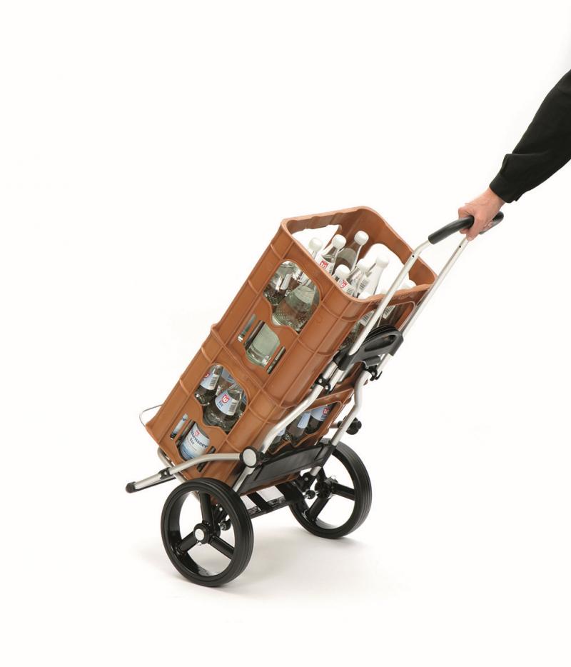 Wózek na zakupy Royal 166 Hera srebrny, firmy Andersen