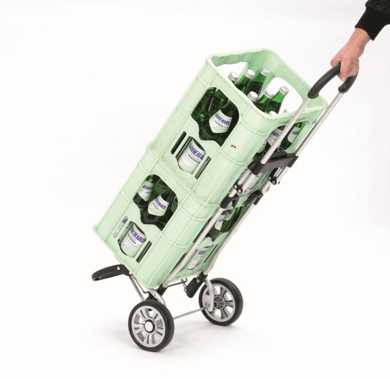 Wózek na zakupy Scala Plus Sila szary, firmy Andersen