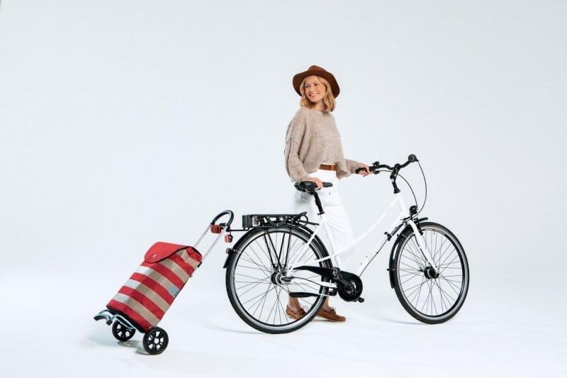 Wózek na zakupy Scala Anea zielony, firmy Andersen