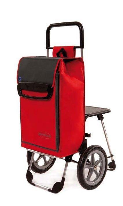 Wózek turystyczny Relax czerwony, firmy Aurora