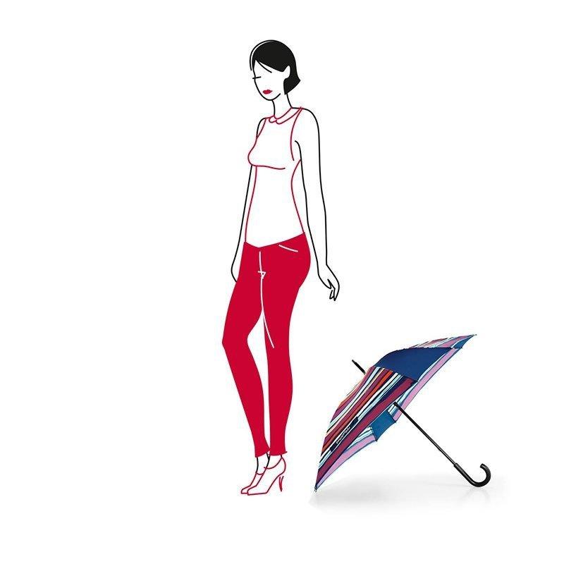 Parasol Umbrella kolor Artist Stripes, firmy Reisenthel