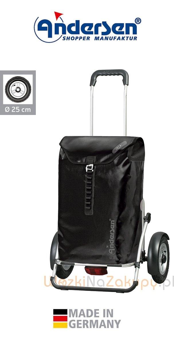 Wózek turystyczny Royal Plus 143 Ortlieb czarny, firmy Andersen
