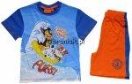 Piżama komplet letni Psi Patrol niebieski