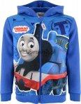 Bluza Tomek i przyjaciele z kapturem niebieska