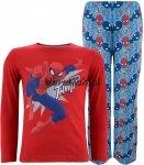 Piżama Spiderman THWIP czerwona