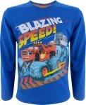 Bluzka Blaze i Mega Maszyny niebieska