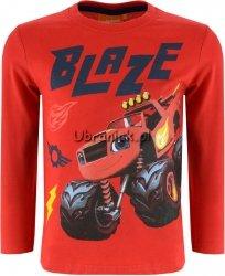 Bluzka Super Blaze i Mega Maszyny czerwona