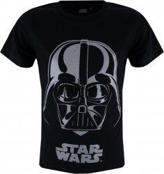 T-shirt Star Wars Silver Vader