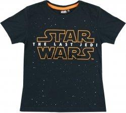 T-shirt Star Wars THE LAST JEDI czarny