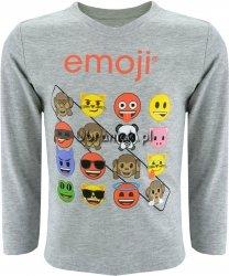 Bluzka Emoji szara
