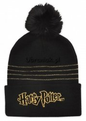 Czapka zimowa Harry Potter złota nitka