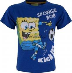 Koszulka SpongeBob z piłką niebieski