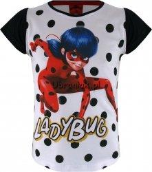 T-shirt Miraculum Biedronka i Kot w czarne kropki