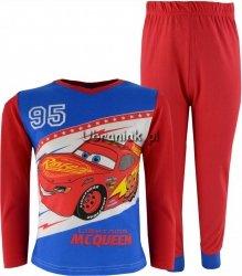 Piżama Auta Cars czerwona