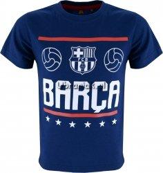 T-shirt FC Barcelona Barca granatowy