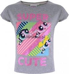 Bluzka Atomówki Super Cute szara