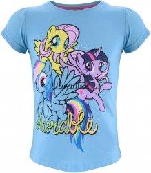 T-shirt Kucyki Pony niebieski
