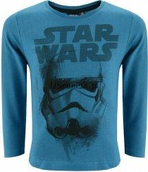 Bluzka STAR WARS Helmet niebieska