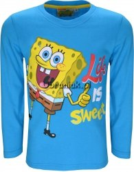 Bluzka SpongeBob Sweet niebieska