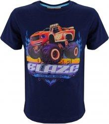 T-shirt Blaze i Mega Maszyny granat