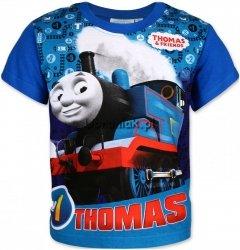 T-shirt Tomek i przyjaciele niebieski