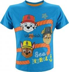 T-shirt Psi Patrol  lina niebieski