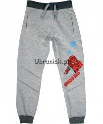 Spodnie Spiderman Salut szare