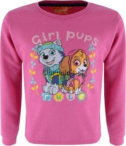 Bluza Psi Patrol dla dziewczynki różowa