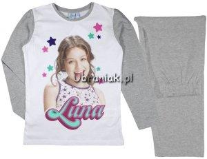 Piżama Soy Luna szara