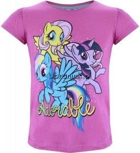 T-shirt Kucyki Pony różowy