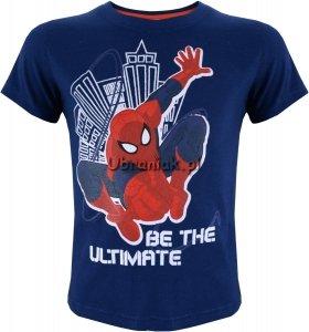 T-shirt Spiderman granatowy