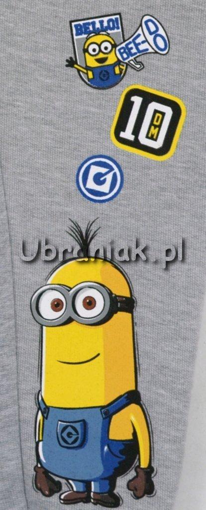 Spodnie dresowe Minionki szare postac Minionka