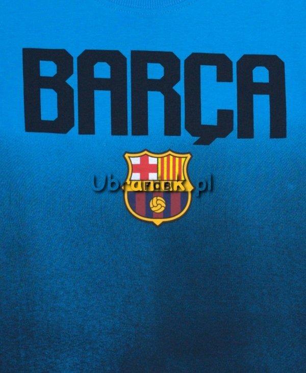 Koszulka FC Barcelona Barca niebieska logo