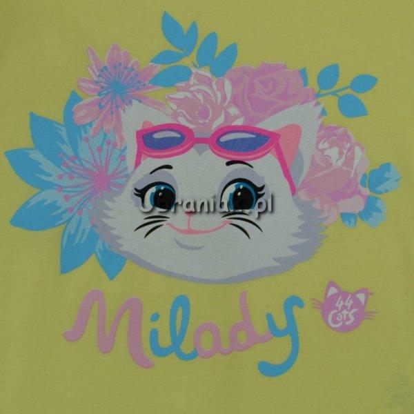 Koszulka 44 koty Milady żółta