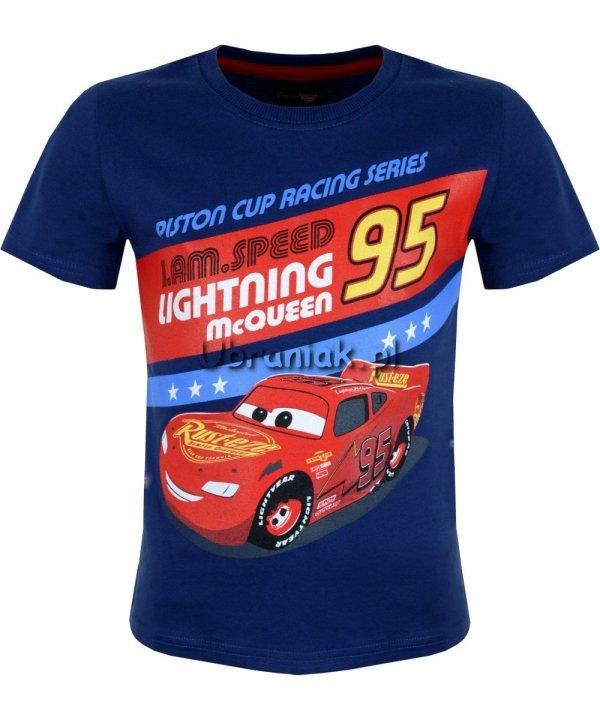 T-shirt Auta Piston Cup granatowy
