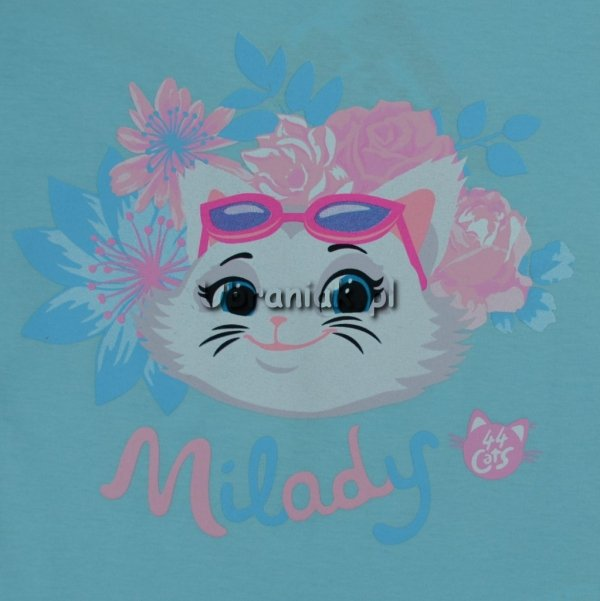 Koszulka 44 koty Milady niebieska