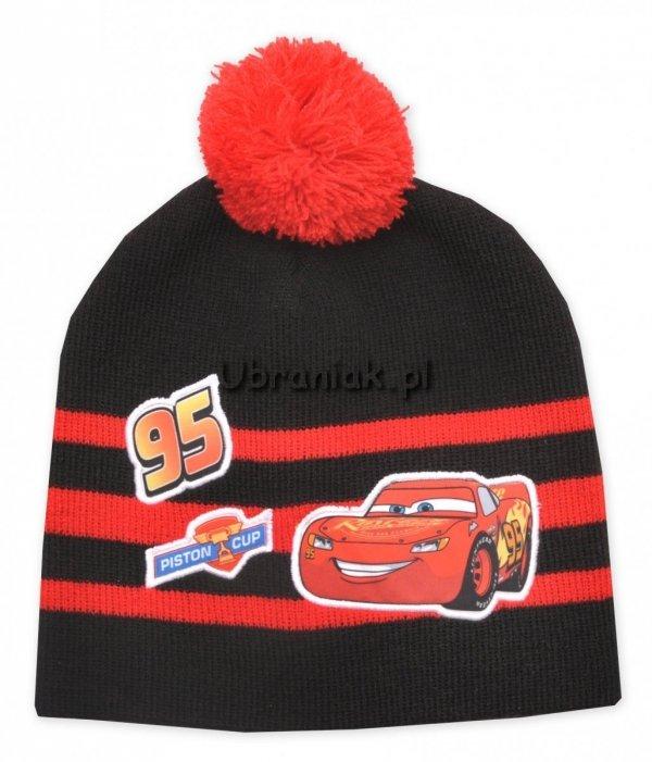 Czapka Auta Cars 95 czarna