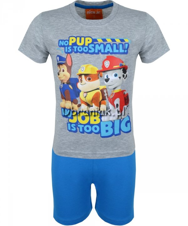 Piżama Psi Patrol Job szara