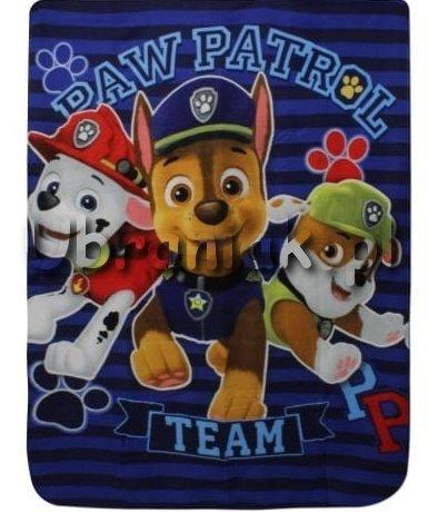 Kocyk Psi Patrol Marshall Chase i Rocky