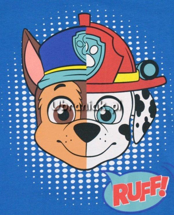 T-shirt Psi Patrol Ruff niebieski
