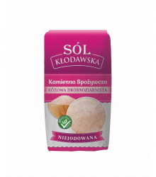 Sól drobnoziarnista różowa 1kg