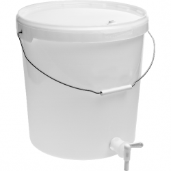 Pojemnik fermentacyjny 20 L z kranem i pokrywką