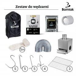 Zestaw do Wędzarni Nierdzewnej Borniak UWS-70